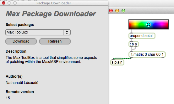 Max Package Downloader